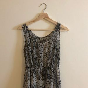 [ali&kris] snakeskin dress